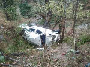 पाल्पामा जिप दुर्घटना : २ को मृत्यु, ७ जना घाइते