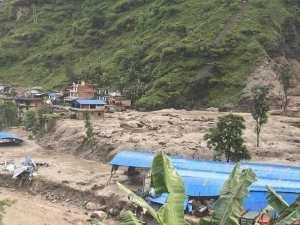 लमजुङमा पहिरोले घर पुर्यो, एकै परिवारका ३ जनाको मृत्यु