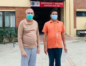 कोरोना संक्रमित कांग्रेस महामन्त्री कोइराला अस्पतालबाट डिस्चार्ज