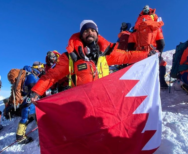 bahrain royal guard mount everest