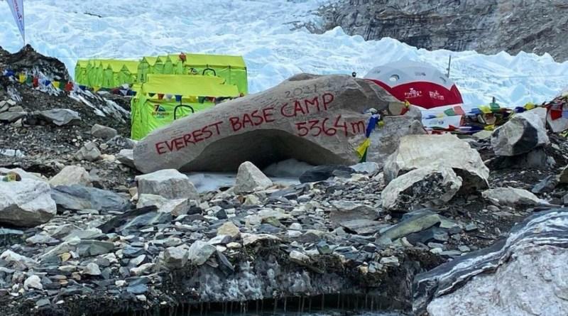 everest base camp 2021