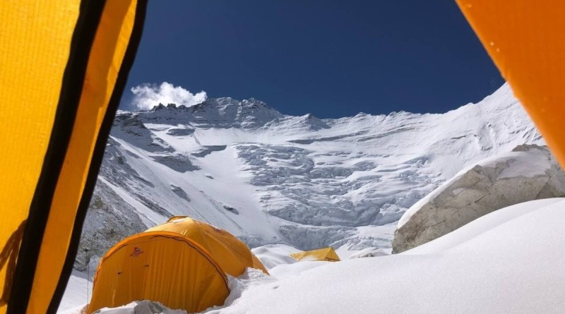 everest camp 2 tent