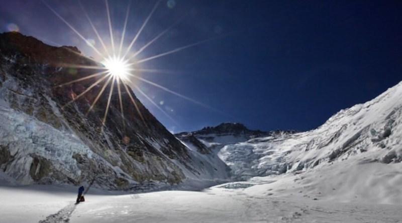 everest lhotse sun