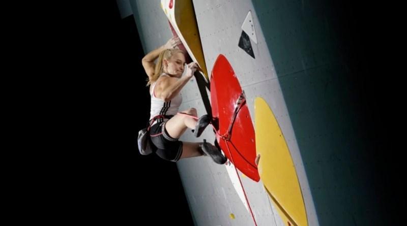 sport climbing olympic
