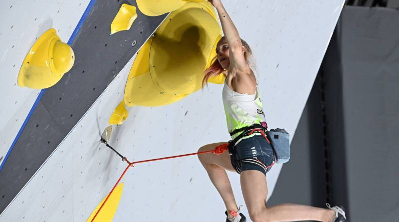 Janja Garnbrett olympics