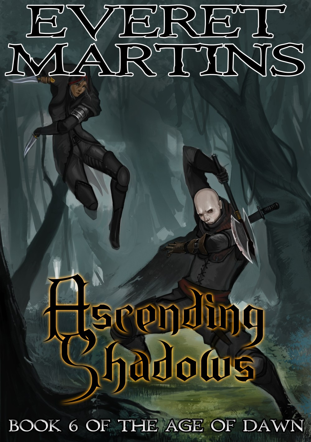 Ascending Shadows - Book 6 of The Age of Dawn