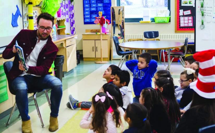 Everett Public Schools Celebrate Read Across America Day