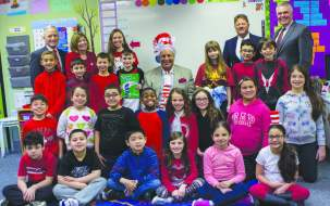 HUGH KELLEHER (Center)— Retired Everett Public Schools Educator and Administrator