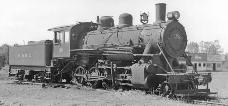 Upon arrival at Rail City, Number 38 was quickly found to be too heavy for the lightly-built museum track.  She was placed on display.