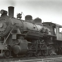 In the 1950s, Number 38 was frequently used on the H&BT's daily passenger trains.