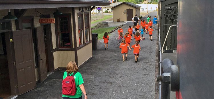 Bring your school, church or tour group to ride the Everett Railroad!