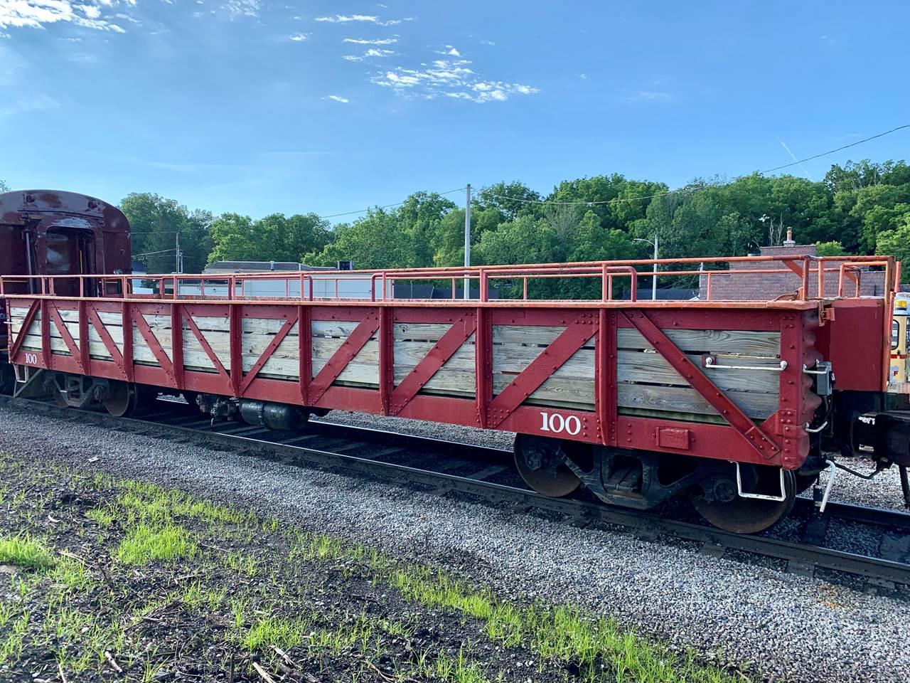 Everett Railroad Open Air Gondola 100