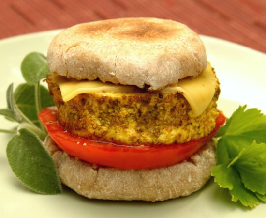 Everetts Fusions Vegan Breakfast Sandwich