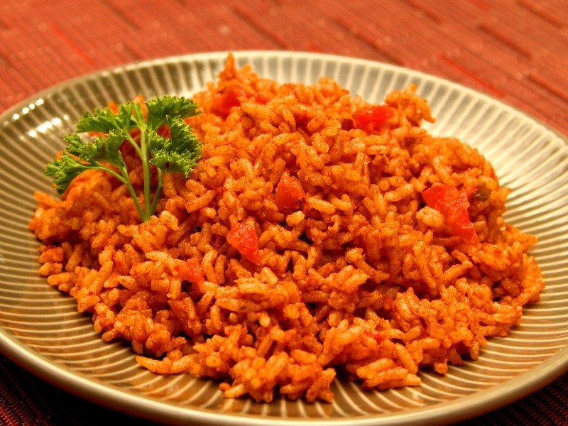 Everetts Fusions Spanish Rice