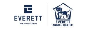 City of Everett and Everett Animal Shelter logos