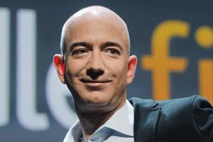 Jeff Bezos of Amazon