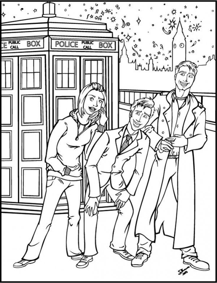 get this doctor who coloring pages online printable b6qsa