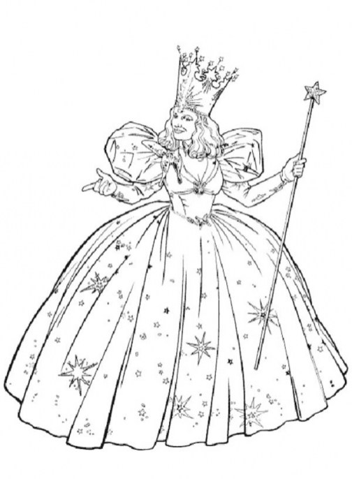 Easy Printable Wizard Of Oz Coloring Pages for Children 7U4LH