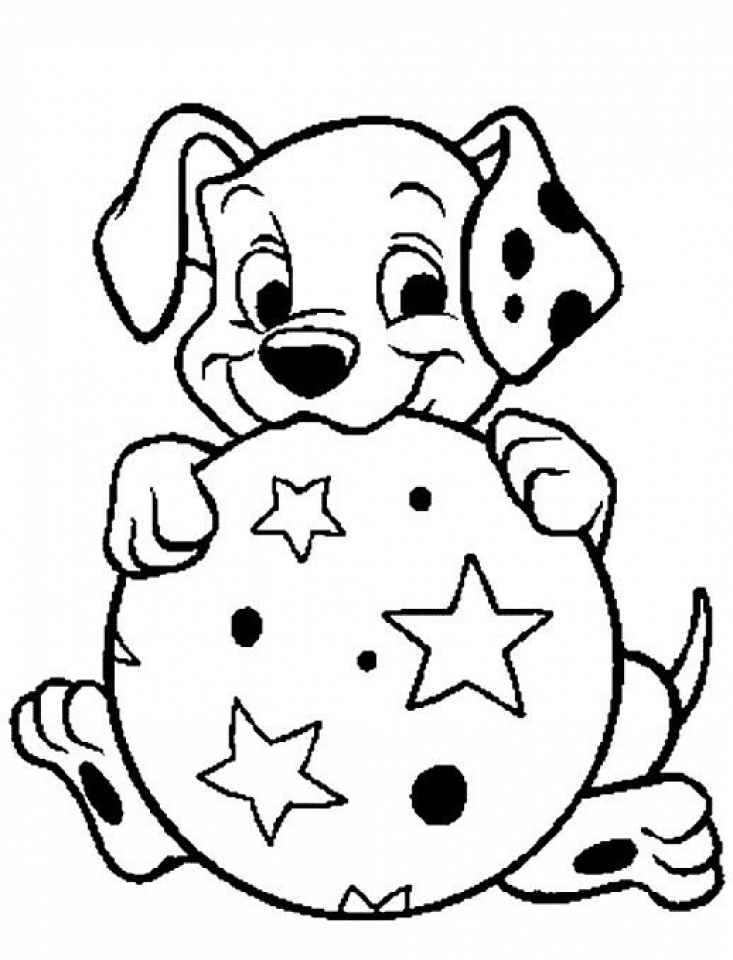 Get This Free Preschool Puppy Coloring Pages To Print T77HA !