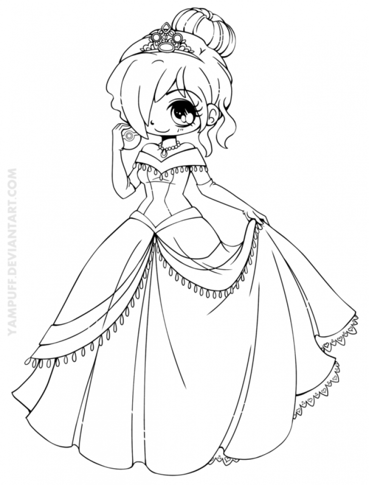 Get This Free Printable Chibi Coloring Pages for Kids HAKT6