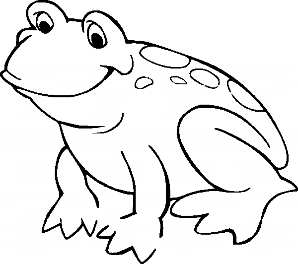 Get This Free Printable Frog Coloring Pages for Kids HAKT6