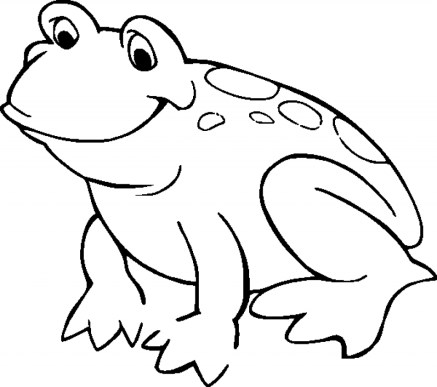 Free Printable Frog Coloring Pages for Kids HAKT6