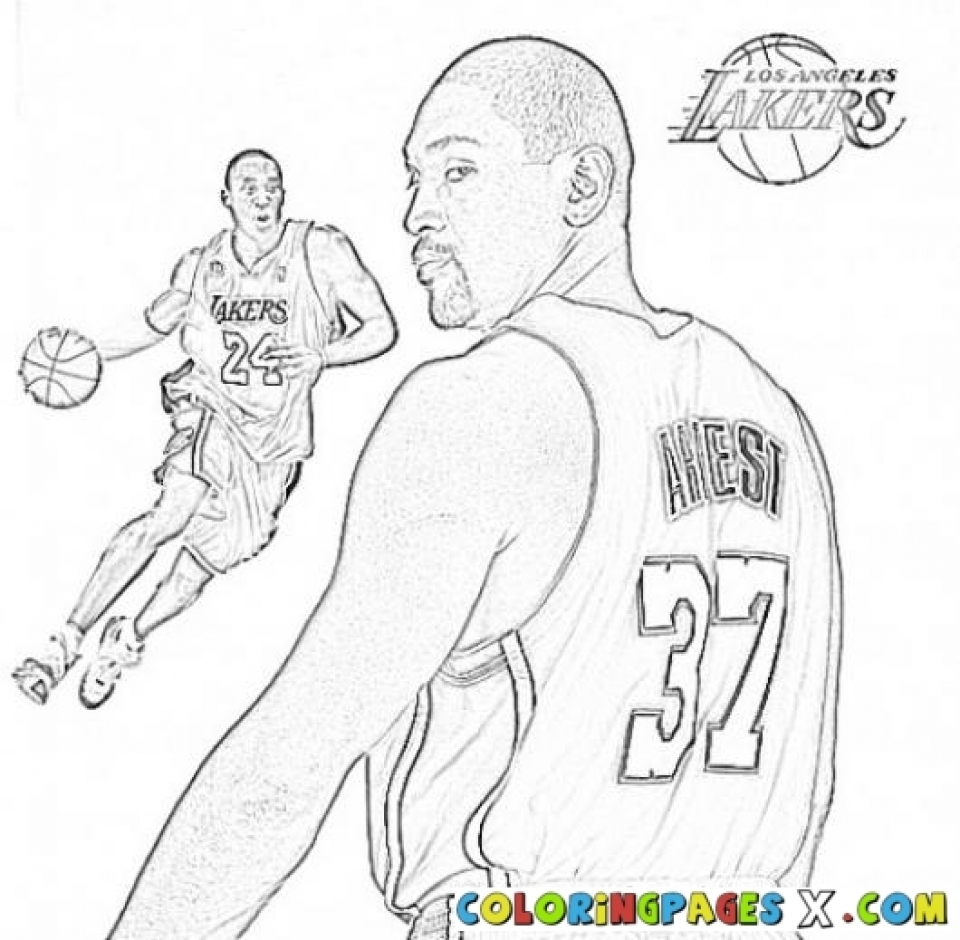 Get This Kids Printable Nba Coloring Pages Free Online G1o1z