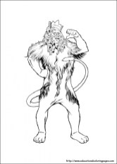 Wizard Of Oz Coloring Pages Free to Print NU02M