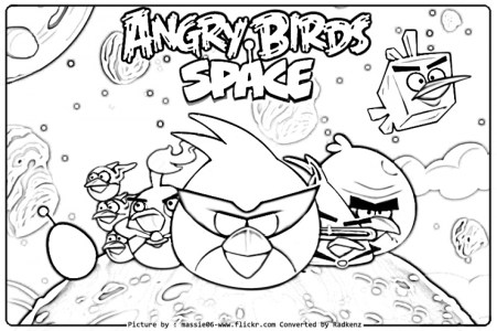 Angry Bird Coloring Pages to Print Online K0X5s