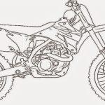 20+ Free Printable Dirt Bike Coloring Pages