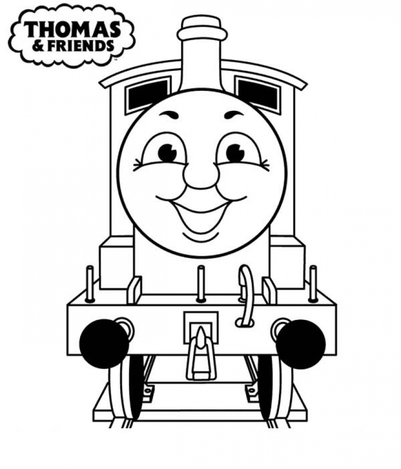 Get This Easy Preschool Printable of Thomas And Friends