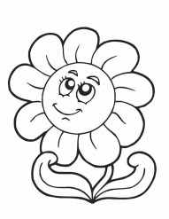 Easy Spring Coloring Pages for Preschoolers 9iz28