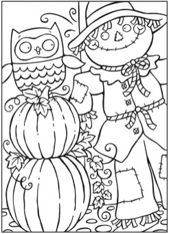 Free Autumn Coloring Pages 46159