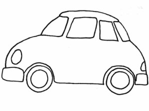 Free Car Coloring Page 47124