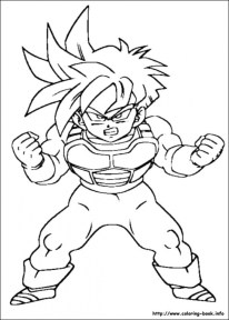 Dragon Ball Z Coloring Pages Broly - Coloring Home | 288x206