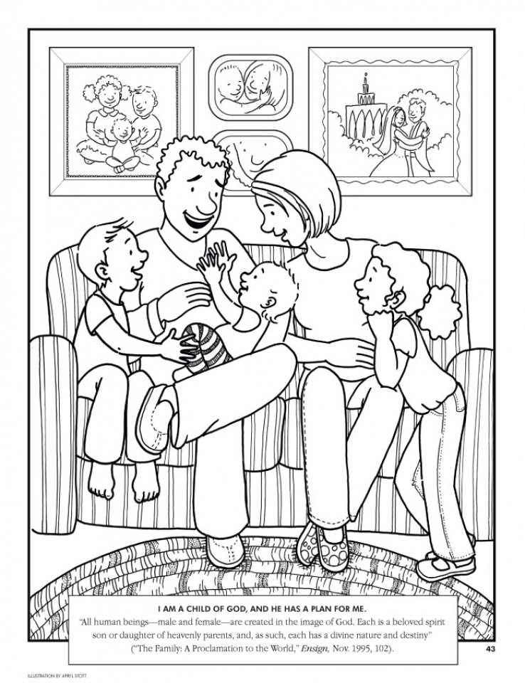 Free Picture of Family Coloring Pages   prmlr
