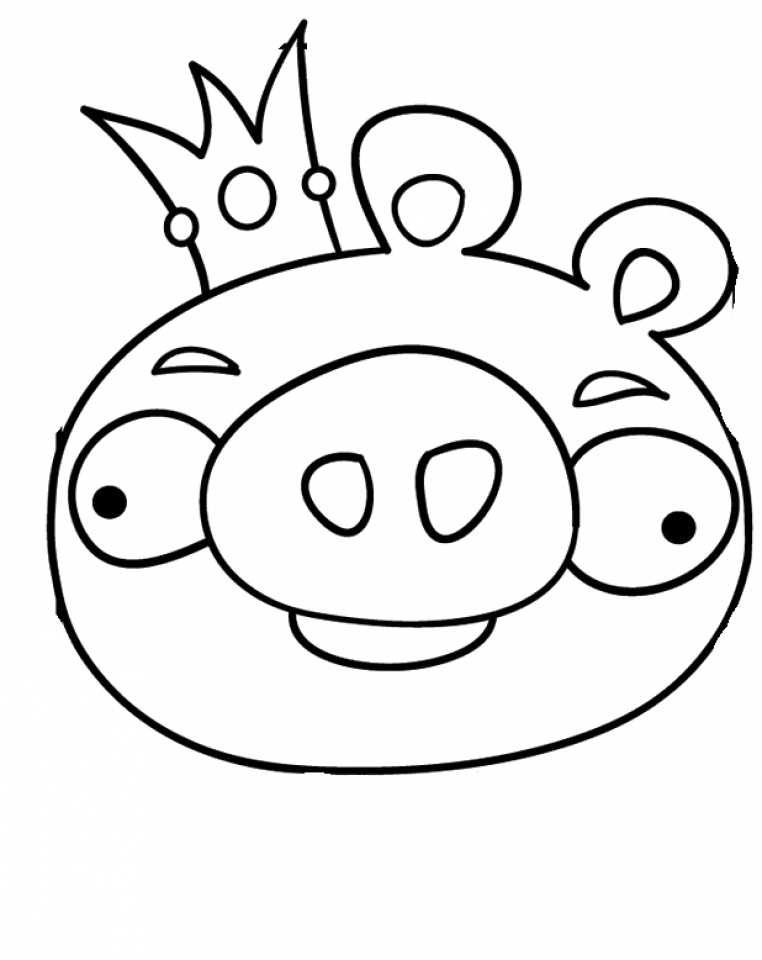 Free Preschool Angry Bird Coloring Pages to Print   OLoEv