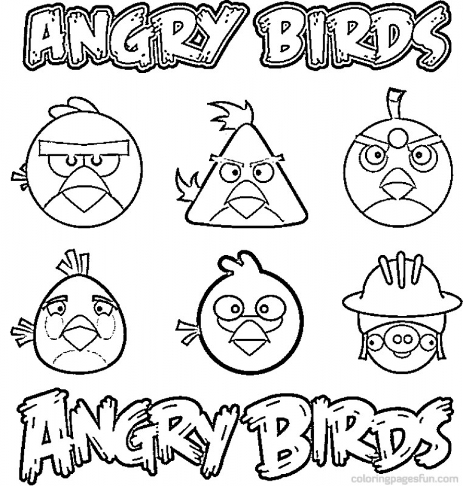 Free Simple Angry Bird Coloring Pages for Children   t6gbg