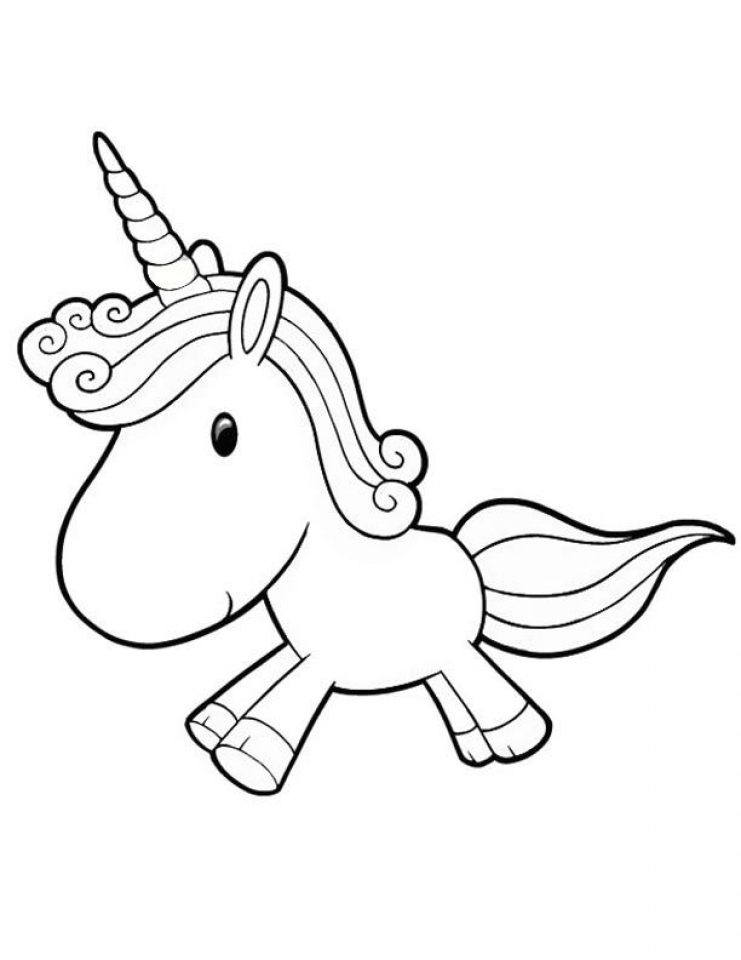 Free Unicorn Coloring Pages   25762