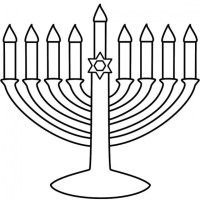 Hanukkah - Free Coloring Pages