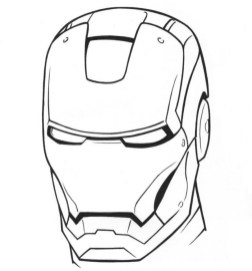 Ironman Coloring Pages Free Printable 9466
