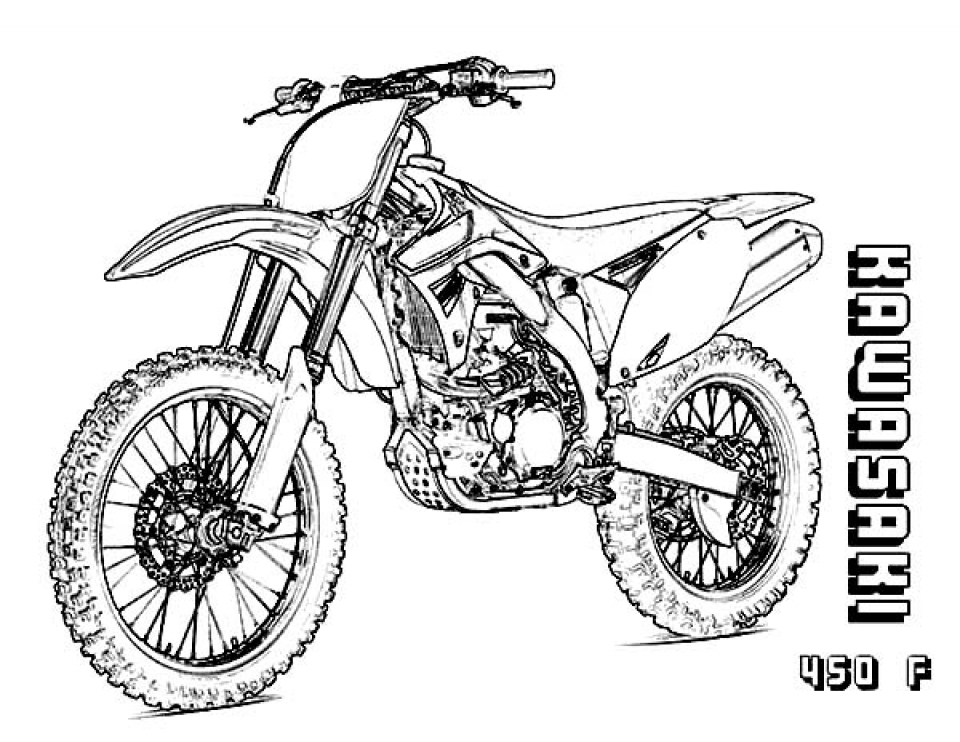 Get This Kids' Printable Dirt Bike Coloring Pages x4lk2