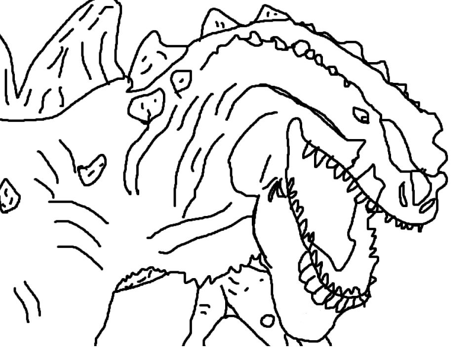 Kids' Printable Godzilla Coloring Pages Free Online   cIxtO