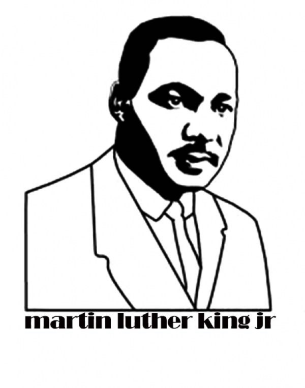 martin luther king coloring pages free # 38