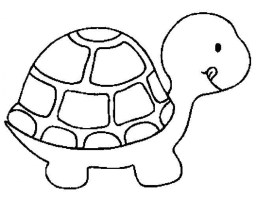 Kids' Printable Turtle Coloring Pages x4lk2