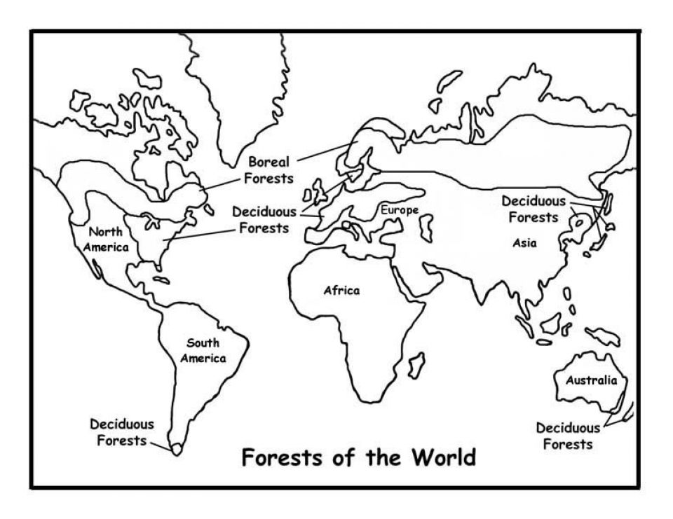 Get This Kids' Printable World Map Coloring Pages Free
