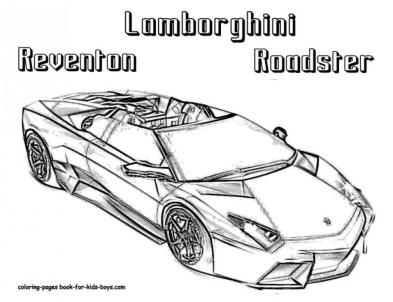 Lamborghini Coloring Pages Free Printable 75185