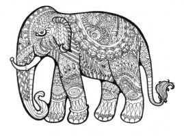 Mandala Elephant Coloring Pages 9f2fg6