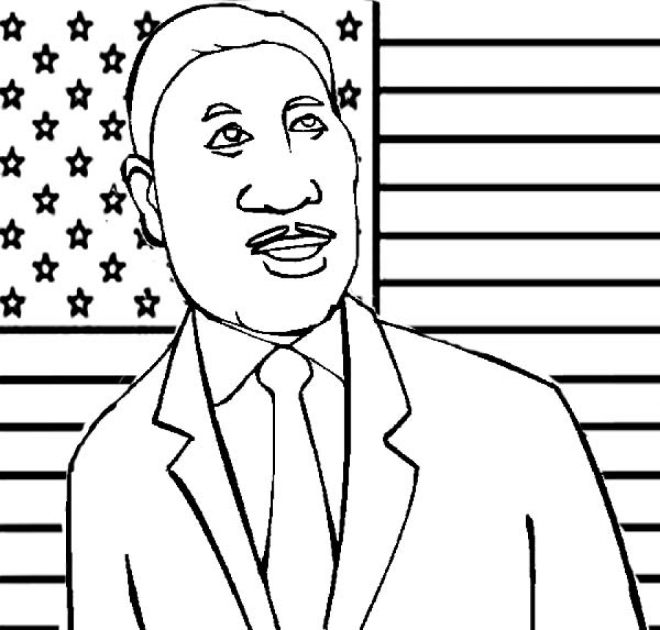 I Have A Dream Printables Coloring Pages
