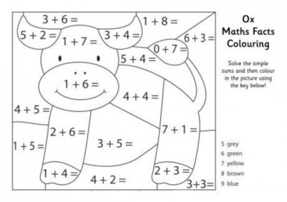 Get This Math Coloring Pages to Print Online lj8rr